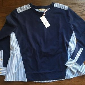 Vineyard Vines Long Sleeve Knit Shirt Blouse